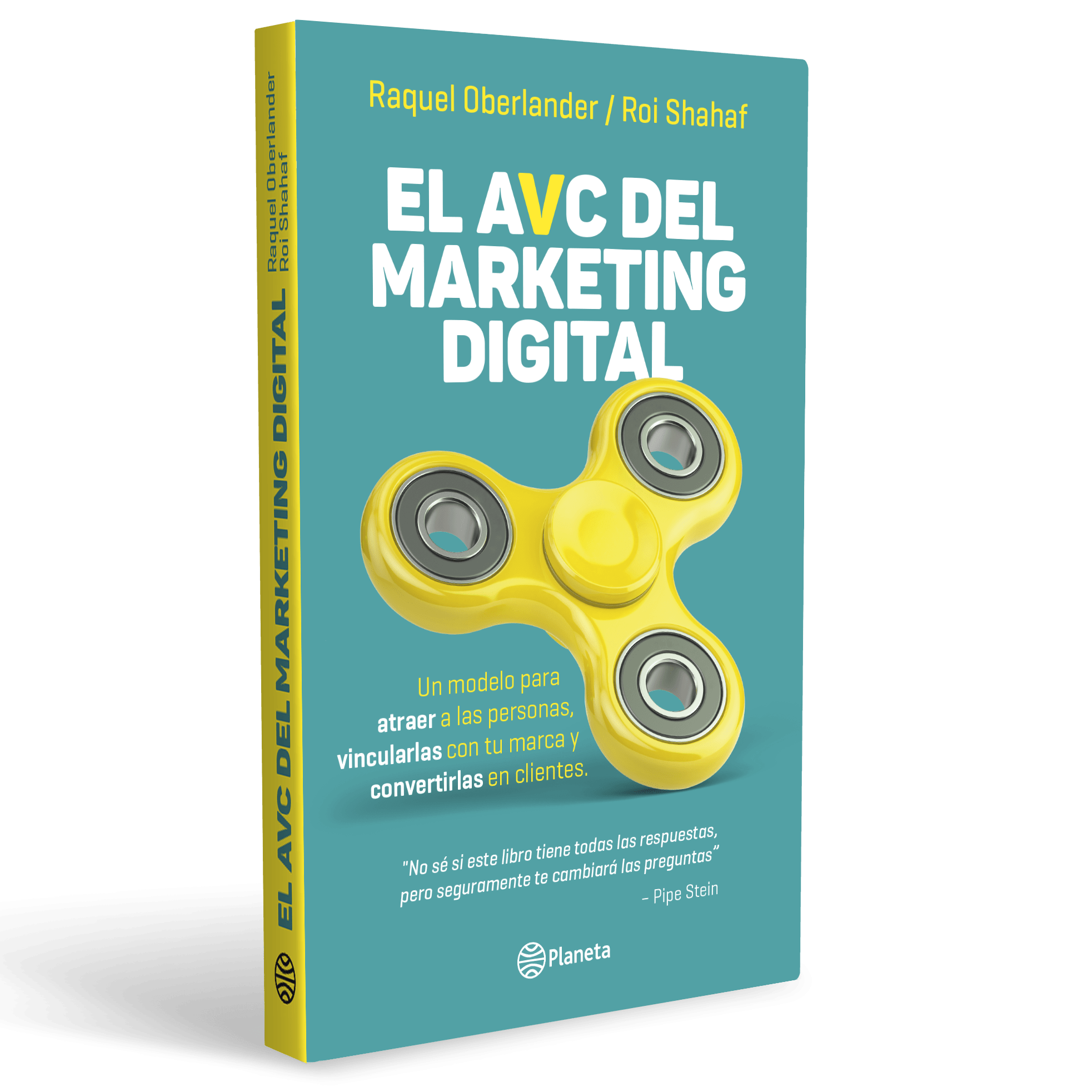 "La tapa del libro ""El Avc del marketing digital"""